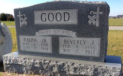 Beverly J <I>Ropp</I> Good