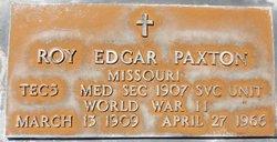 Roy Edgar Paxton