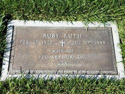 Ruby Ruth Ahl