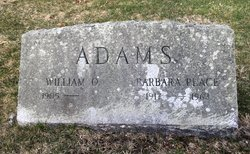 Barbara <I>Place</I> Adams