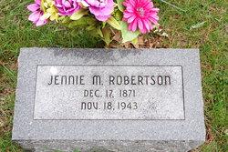 "Rachel Jane ""Jennie"" <I>McMillan</I> Robertson"