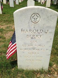 Harold J Berry