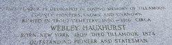 Webley John Hauxhurst, Jr