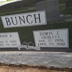 Doris Jean <I>Dudley</I> Bunch
