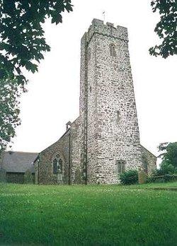 Steynton, Saint Cewydd and Saint Peter Churchyard