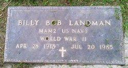 Billy Bob Landman