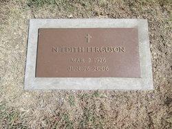 Edith <I>Pittman</I> Ferguson