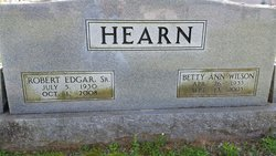 Betty Ann <I>Wilson</I> Hearn