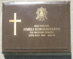 Private Simeli Kurusavulevu