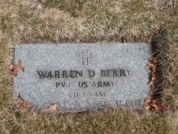 Warren D Berry
