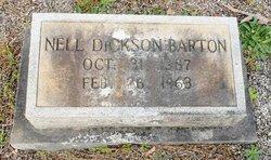 Nell <I>Dickson</I> Barton