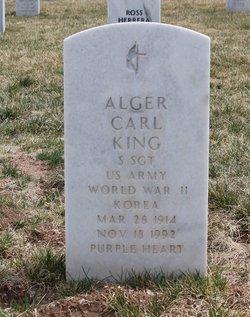 Alger Carl King