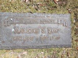 Marjorie S <I>Snyder</I> Kulp