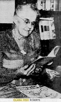 Clara Cramond <I>Fish</I> Roberts