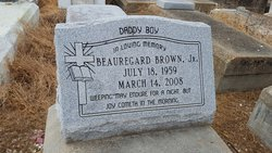 "Beauregard ""Bo Brown"" Brown, Jr"