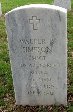 Walter R Simpson