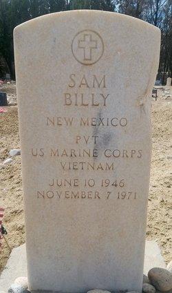 PVT Sam Billy