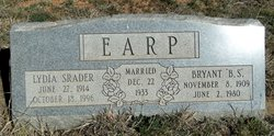 "Bryant Starnes ""B.S."" Earp"