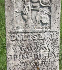 Louisa J <I>Daggett</I> Digby