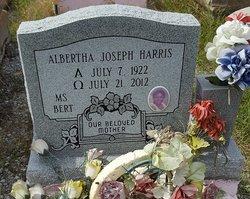 Albertha <I>Joseph</I> Harris