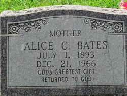 Alice C Bates