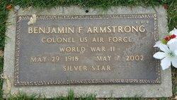 Benjamin F Armstrong