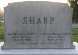 Lois Morris <I>Cannon</I> Sharp