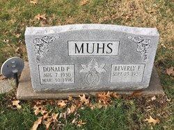 Donald P Muhs