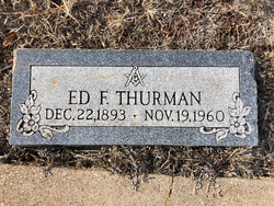 "Edward F ""Ed"" Thurman"