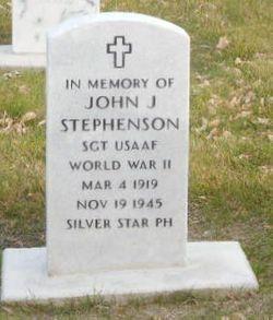 SGT John J Stephenson