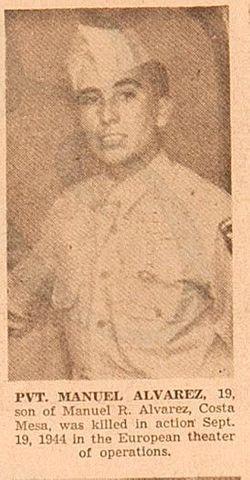 PVT Manuel Lopez Alvarez