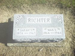 Sarah E <I>Stocker</I> Richter