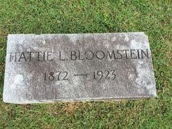 Hattie <I>Lowenstein</I> Bloomstein