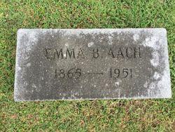 Emma <I>Bloomstein</I> Aach