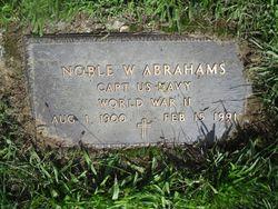 CPT Noble Wayne Abrahams