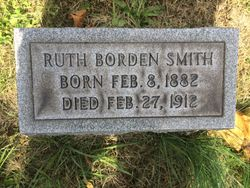 Ruth Elsa <I>Borden</I> Smith