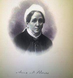 Anna Matilda <I>Cash</I> Powers