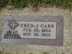 "Frederick J. ""Fred"" Carr"
