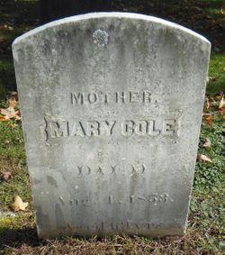 Mary <I>Shattuck</I> Cole