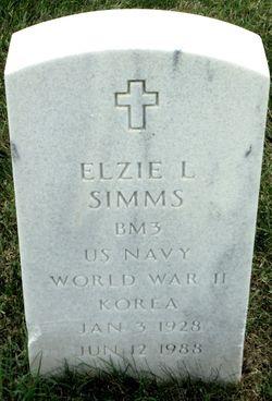 Elzie L Simms