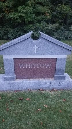 "Richard H ""Dick"" Whitlow (1941-2008) - Find A Grave Memorial"