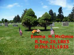 Emma <I>Harker</I> McOmie
