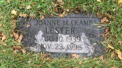 JoAnne Marie <I>Kamp</I> Lester