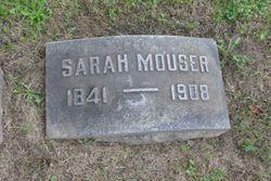 Sarah Eleanor <I>DeLong</I> Mouser