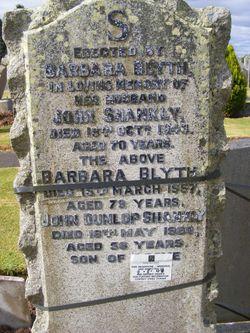Barbara Gray <I>Blyth</I> Shankly