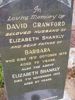 Elizabeth Fleming <I>Shankly</I> Crawford
