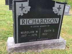 Wardlow W Richardson