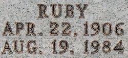 Ruby <I>Atchison</I> Wood