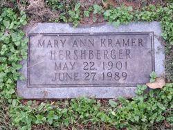 Mary Ann <I>Miller</I> Kramer