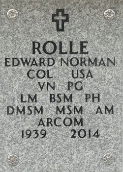 Col Edward Norman Rolle